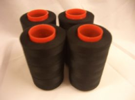 5,000M Cone of Black Cometa Overlocking Thread